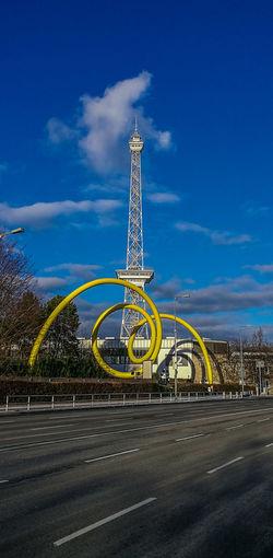 Funkturm Berlin Outdoors Cityscape Cloud - Sky Tower