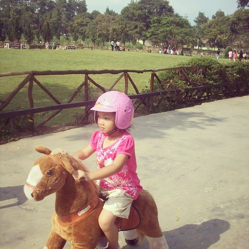 Horseriding Ceritanya Kidsactivities on Holiday Syahla