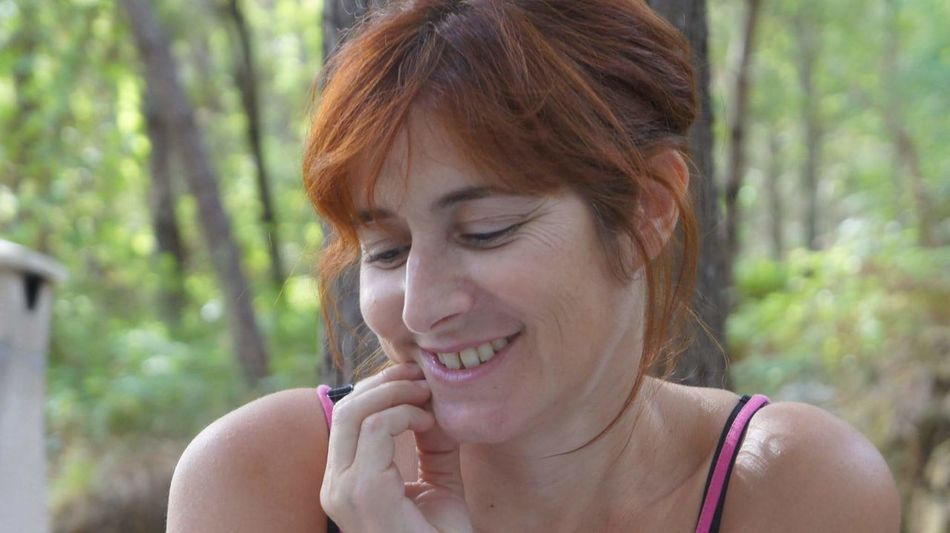 Woman Human Face Without Filters Natural Natural Smile
