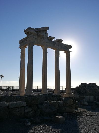 Side Apollon tapınağı History Travel Destinations No People
