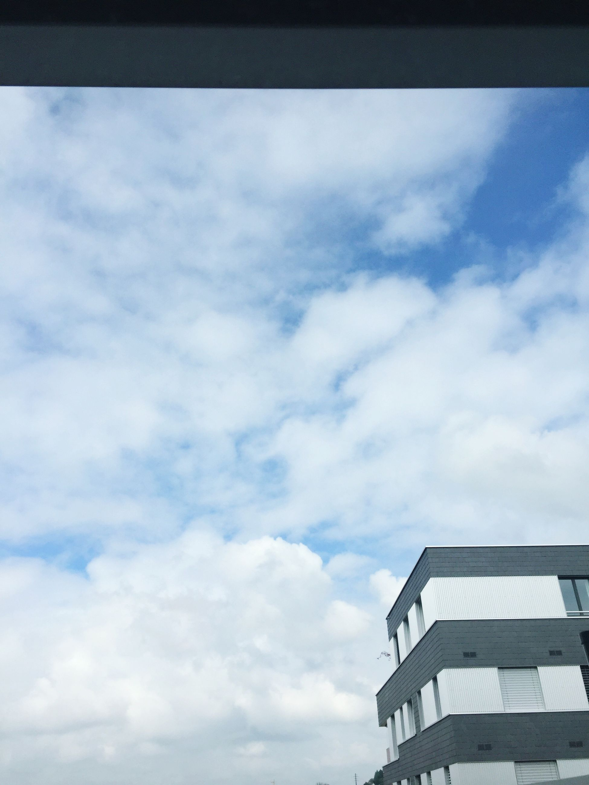 sky, cloud - sky, low angle view, built structure, architecture, no people, day, outdoors, building exterior, nature