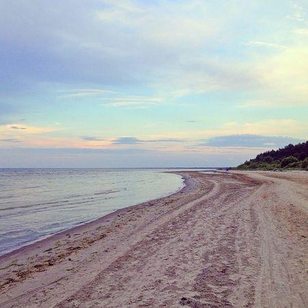 Baltic Sea Beach Horizon Amazing View