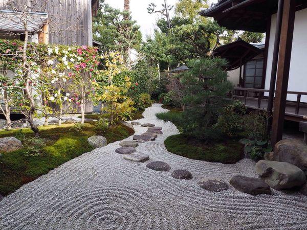 Kyoto Japan Kenninji Temple Temple Ryosoku-in Garden Olympus PEN-F 京都 日本 建仁寺 寺 両足院 庭 侘び寂び