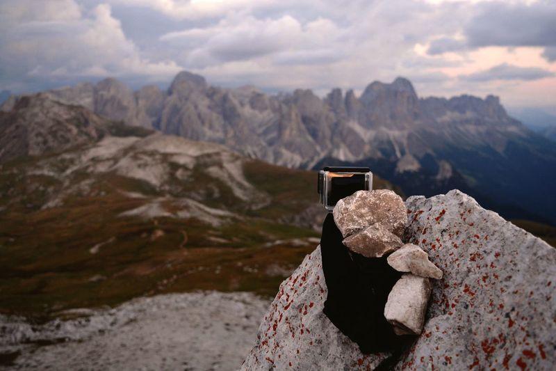 Italy Dolomites Timelapsing The Sky Goprohero4 Dolomites, Italy Italy EyeEm Selects Mountain Cloud - Sky Scenics - Nature Beauty In Nature Nature Mountain Range Landscape Sky Non-urban Scene
