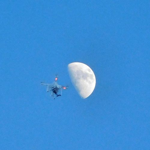 Flying Sky Air Vehicle Drone  NewMexicoTRUE Newmexicophotography DJI Phantom 3 Newmexicoskies Moon Newmexicoskys Dji Global MoonScape Moon Moon Shots