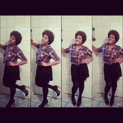 Swaggirl Amazinggirl Blackgirl Curlyhair blackgirl happiness beautiful loveit looktoday lookforchurch linda difference