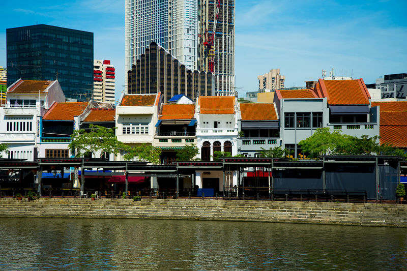 Boat Quay Singapore City Boat Quay Waterfront House