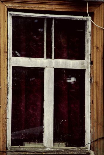 I think old windows are cool Old Windows full of Mysteries Vintage House House Window Curtain Red Frame Old House Countryside Vintage Photo Old Old Fashioned Building Finding New Frontiers