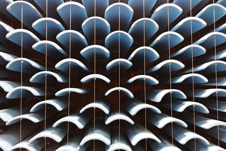 Pattern Repetition Pattern No People Backgrounds In A Row Full Frame Close-up Large Group Of Objects Side By Side Arrangement Abundance Architecture Built Structure Modern Still Life Design Order