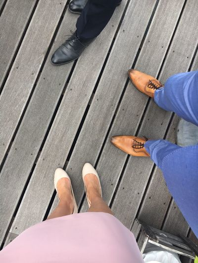 Human Leg Low Section Personal Perspective Human Foot Shoe Real People Human Body Part High Angle View Standing Two People Men Leisure Activity Directly Above Lifestyles Sandal Day Women Outdoors Togetherness Friendship wedding party Wedding party Party Dress Wedding Shoe Birthday Wedding