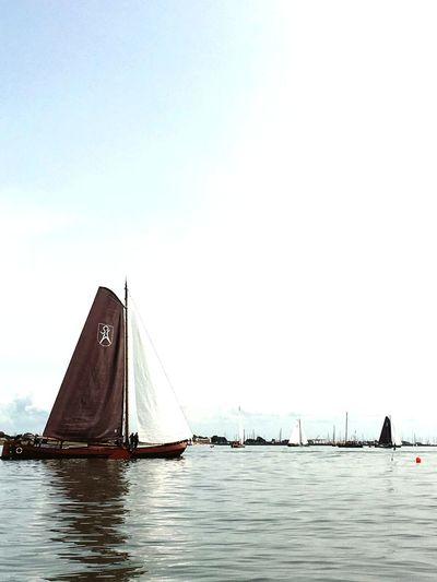Sea Sailboat Outdoors Modern City Day No People Nautical Vessel Sky Netherlands Friesland