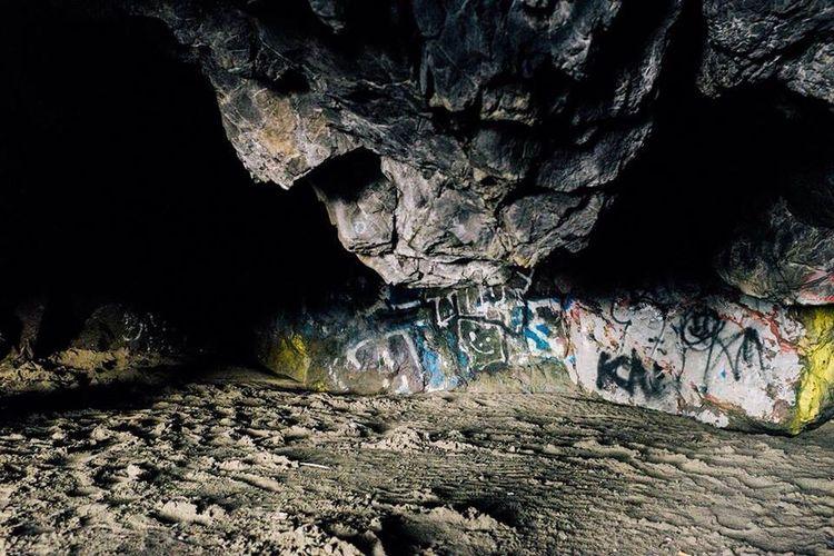 Rocks on rock formation