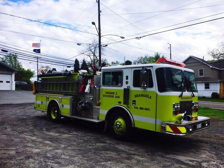 Nuangola VFD Engine 2 ex-White Haven PA Fire Engine Nuangola Fire Department KME Pumper Renegade Fire Engine Pumper Truck