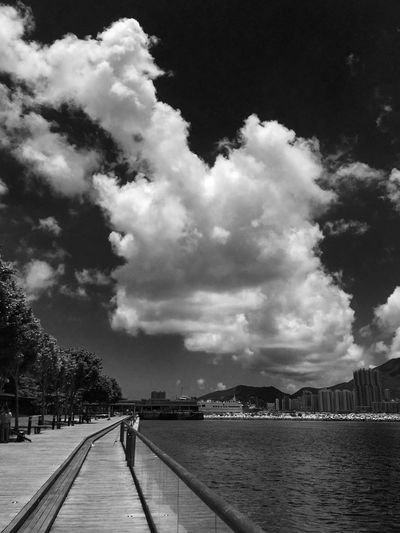 Sky Cloud - Sky Nature Mountain Outdoors Day Architecture Built Structure Scenics Water Beauty In Nature Tree City No People Hong Kong City Sony Tim Wong