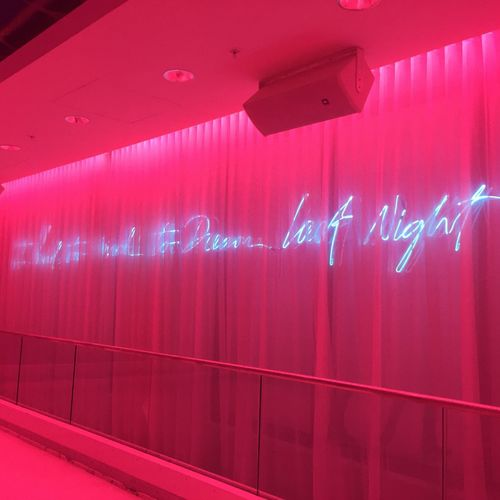 I Had Too Much To Dream Last Night Miami Beach Having Fun Neon Lights Neon Sign Powerful Signs Check This Out