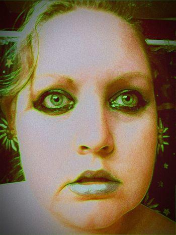 Versions Of Me Make Up ART Green Lantern