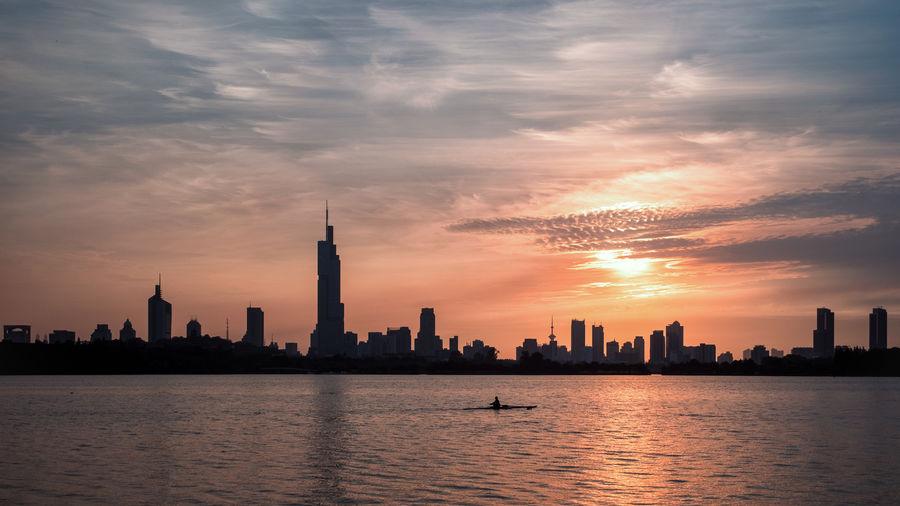 Nanjing lake