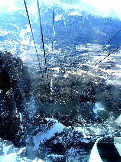 Cableway In A Bubble Suspended Thousands Meters High Breath Taking Snowboard Day Perfect Sun 1000m High Snow Is My Element Carnival Vacation White Week