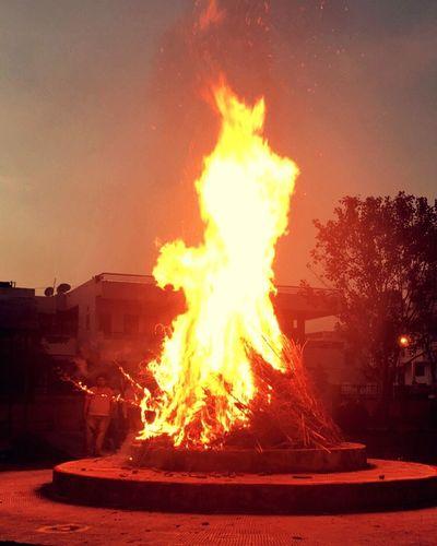 Burning the evil