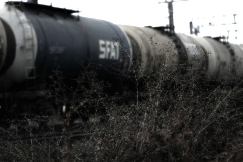 Industrial Grass трава Railroad жд состав