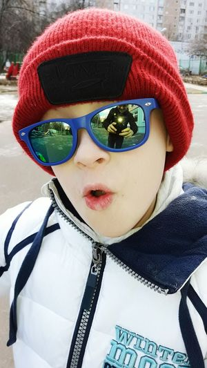 Boy, selfie, photo One Person Child Warm Clothing Looking At Camera Children Only Childhood Day Portrait Winter Outdoors Human Body Part Baby ❤