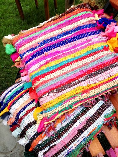 , Beauty, Pink Color Springtime Handmade Old Tradition Riciclato Riciclo Creativo Creaticity Day Colorful Agriculture Agritourism Multi Colored Textile High Angle View Pattern No People Art And Craft Creativity