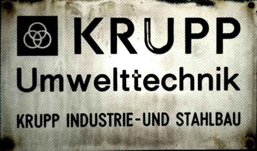 Krupp Steelworks Ruhrpott Industrial