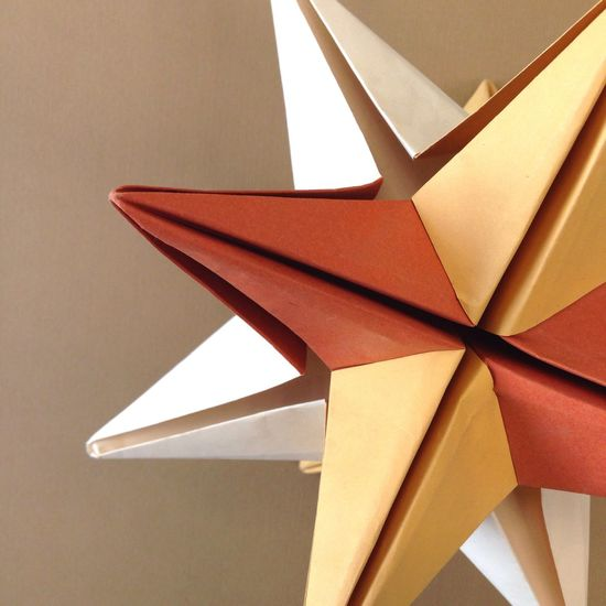 Paper View Origami Paper Abstract Art Artpaper Papiroflexia ClouseUp Stars