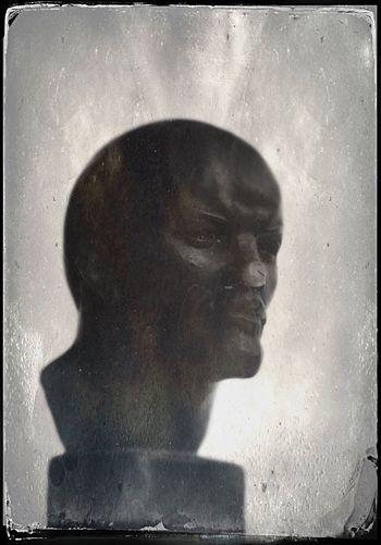 октября 1917 Human Face Sculpture Lenin Vladimir Iliich Close-up Portrait The Week On EyeEm Black And White