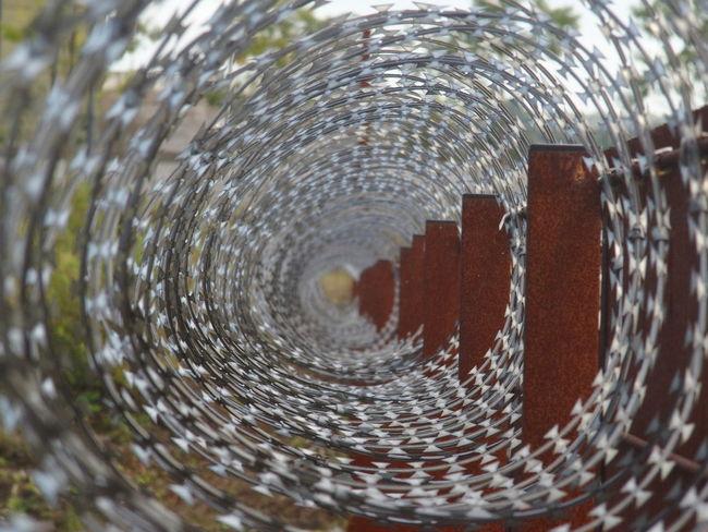 Barbed Wire Barbed Wire Fence Barbedwire Lost Place Lost Places Ruinen Ruins Stacheldraht Stacheldrahtzaun Verlassene Orte Verlassene Plätze Fresh On Market 2016