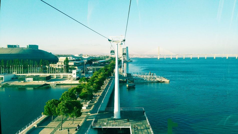 Transportation Connection Suspension Bridge Mode Of Transport Day Calm Reflection Relaxing Your Ticket To Europe