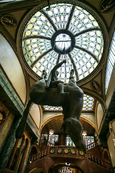 The Journey Is The Destination The Week on EyeEm Travel Architecture Art And Craft Built Structure Canon Ceiling Day Dome History Indoors  Light And Shadow Low Angle View No People Ornate Sculpture Statue Streetphotography Travel Destinations Urban Window