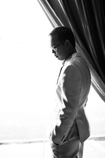 The groom. One
