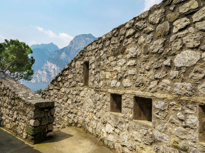 Fortress Wall Defense Architecture Architecture Mountain Built Structure History No People Nature The Past Building Exterior Stone Wall Solid Outdoors Mountain Range High Angle View