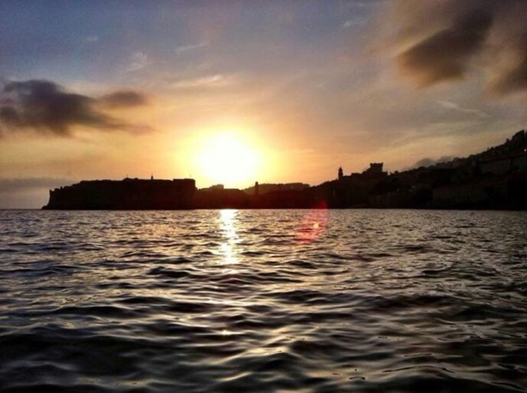 Croacia Dubrovnik Sunset Sunset_collection Puesta De Sol Colors Ivantxos