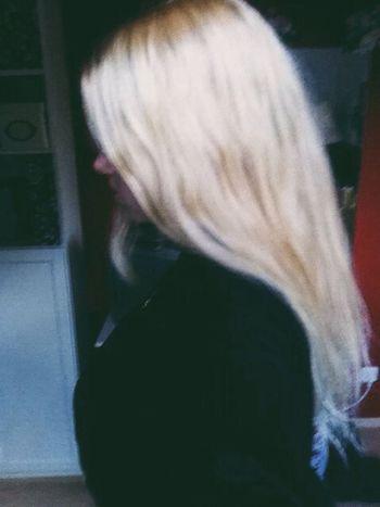 Blonde Hair New Haircut