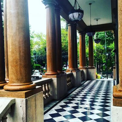Before the Rain ... Architecture Window Balcony Museum Old House ColoniaRoma LaRoma Mexico Cdmx