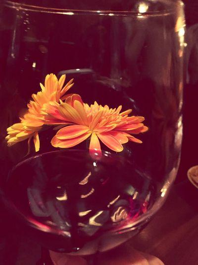 变成了夜宵的晚餐一定要伴着红酒
