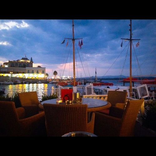 Spetses Greece Greekislands Limani cafe bar cocktails summer sunset greeklife