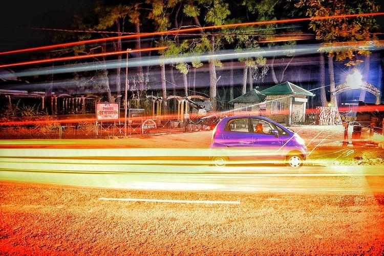 Slowshutter Night Motion Amusement Park Warmemorial Dharamshala , Himachal Pradesh, India first eyeem photo Be. Ready.