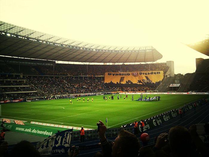Hertha BSC Vs Dynamo  Dresden