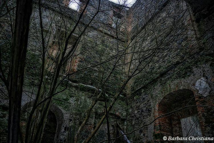 Lostplaces Burg Verfall Ruine
