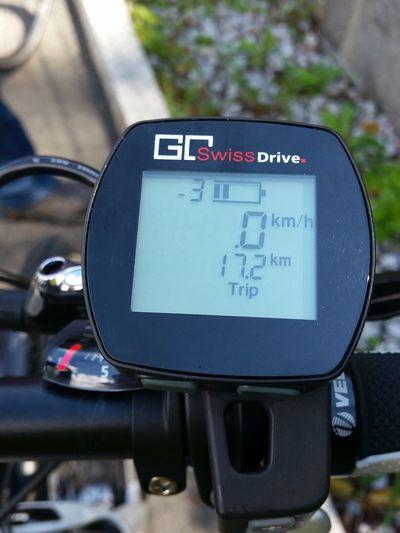 Fahrrad Bycicle Display Tacho VEO-Bike E-bike Geschwindigkeit Anzeige Swiss Trip