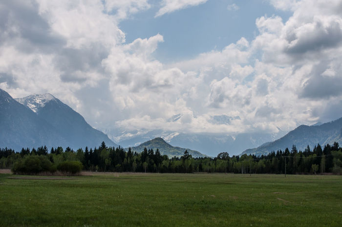 view of the alps near Murnau, l look forward to be there again Be. Ready. Murnau Alps Germany Beauty In Nature Cloud - Sky Field Landscape Mountain Mountain Range Murnauer Moos Nature No People Outdoors Peak Scenery Scenics Tranquility