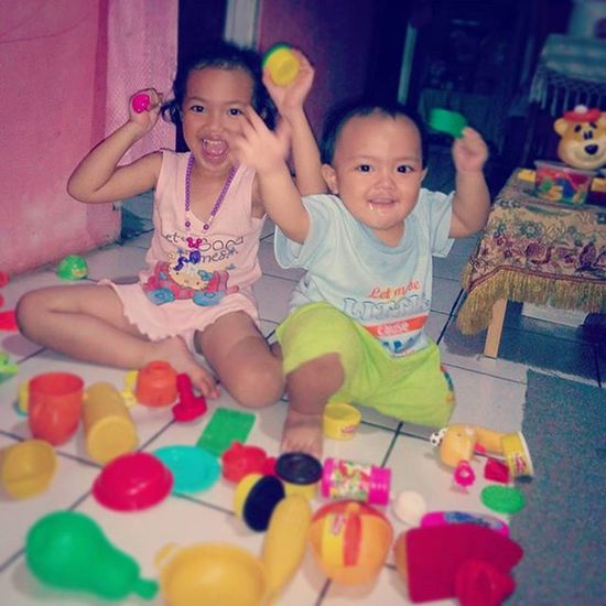 Their Smile are my World 😊😘 Fun Playdoh Kidszone Playingtime