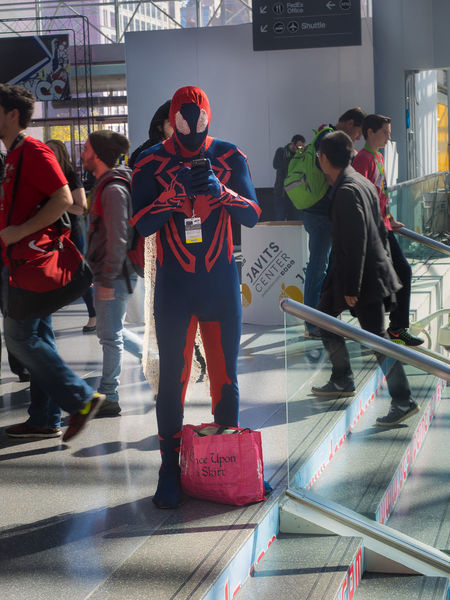 Cosplay Cosplayer New York Comicon NYCC NYCC2015 Spiderman2099