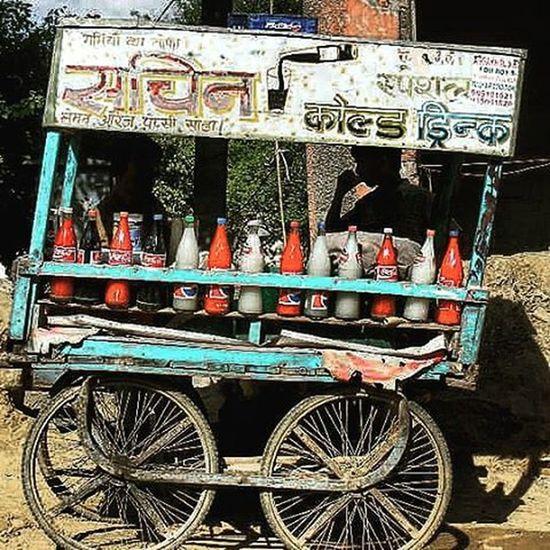 Street sellers cart Incredibleindia India Travel Dehli Traveling