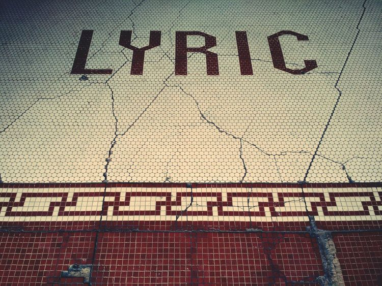 Cracks Tile Lyric  Old Buildings Historic Vintage Signage Buildings Old