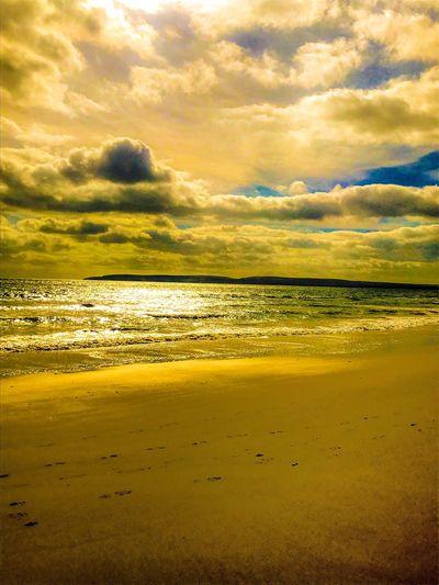 Beach under the