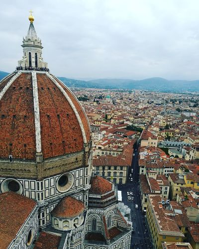 Florence Italy Summertime Summer Architecture Cupola Santamariadelfiore Campaniledigiotto